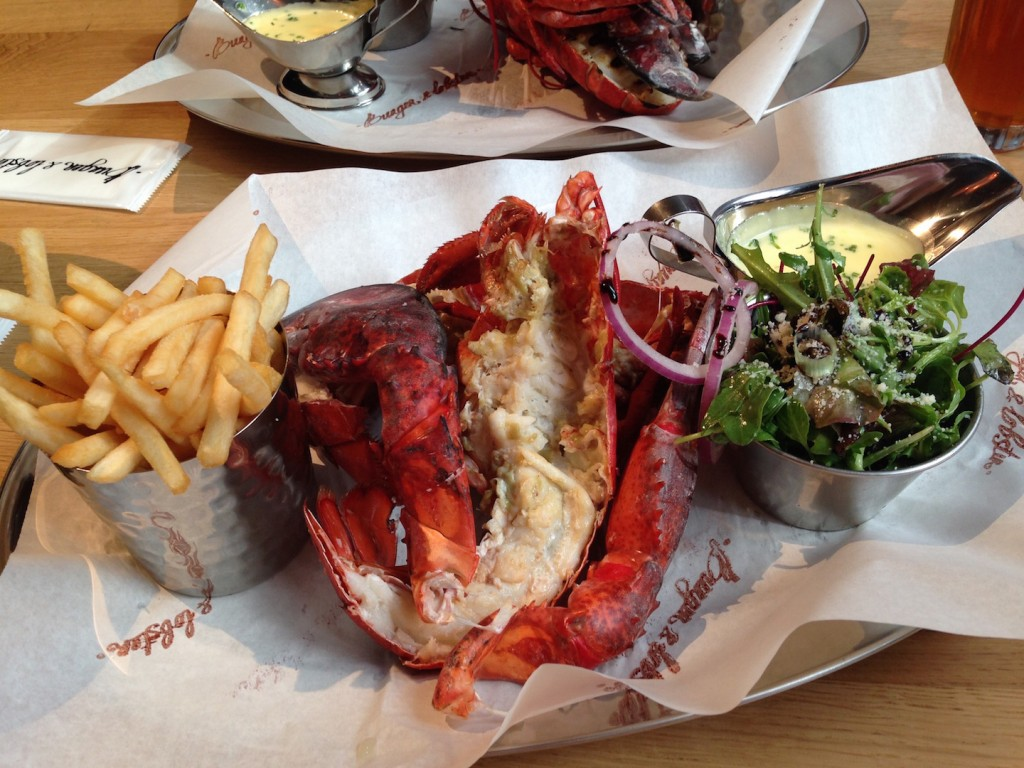 Burger & Lobster 1