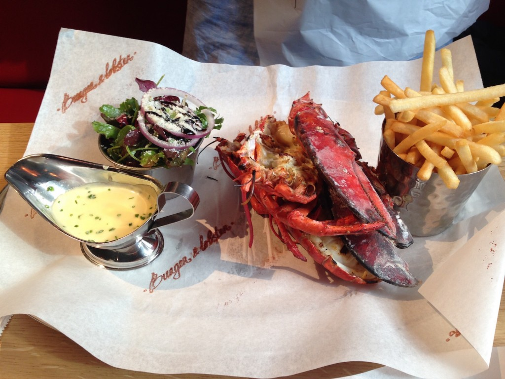 Burger & Lobster 2